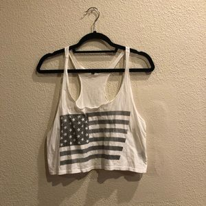 Truly Madly Deeply White Crop Top